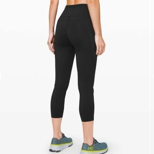 """NWT Lululemon Fast and Free High-Rise Crop 23"""""""